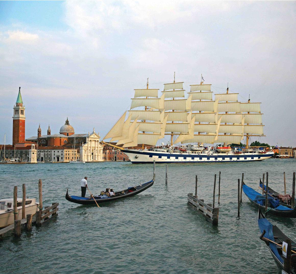 Royal Clipper in Venedig