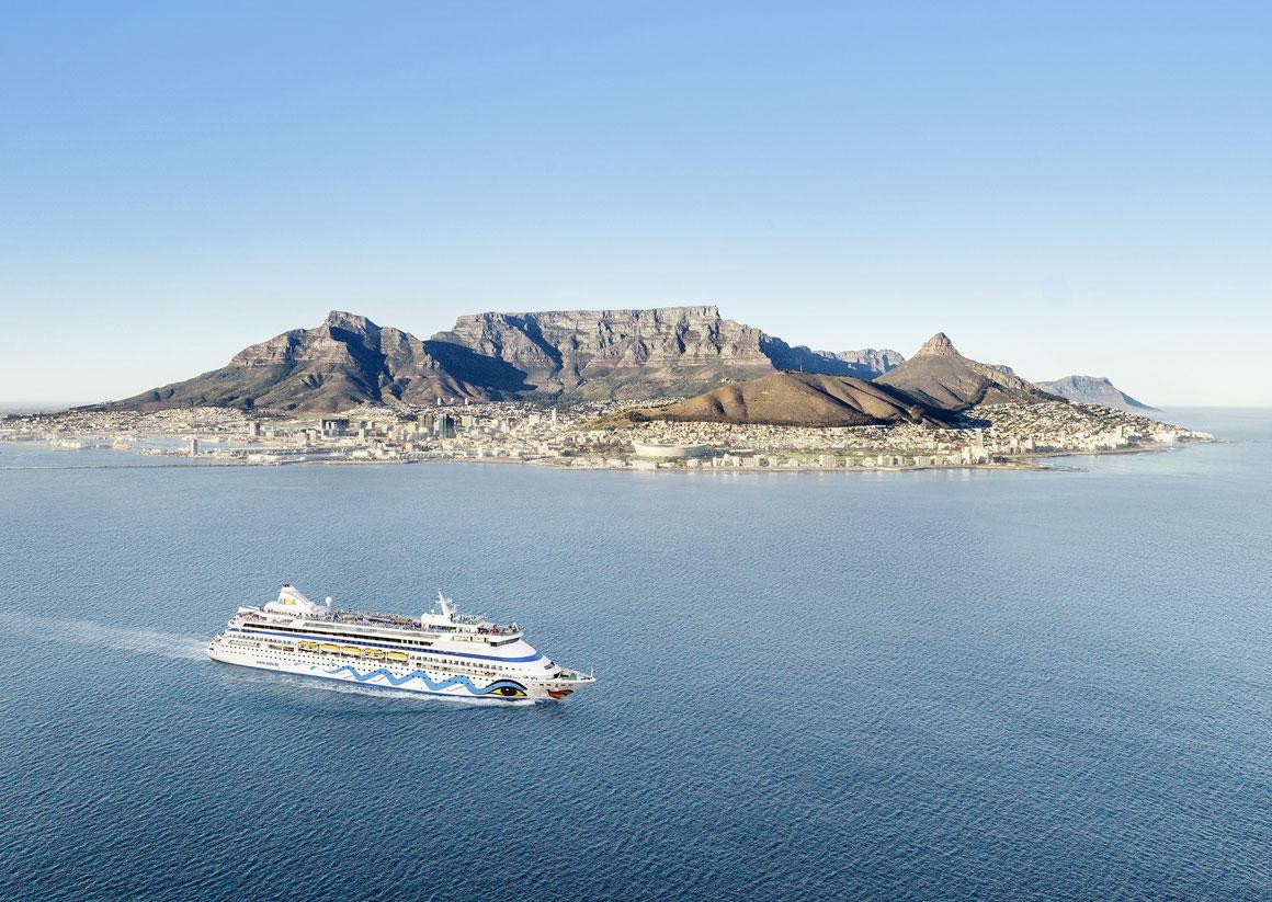AIDAaura Weltreise Südafrika