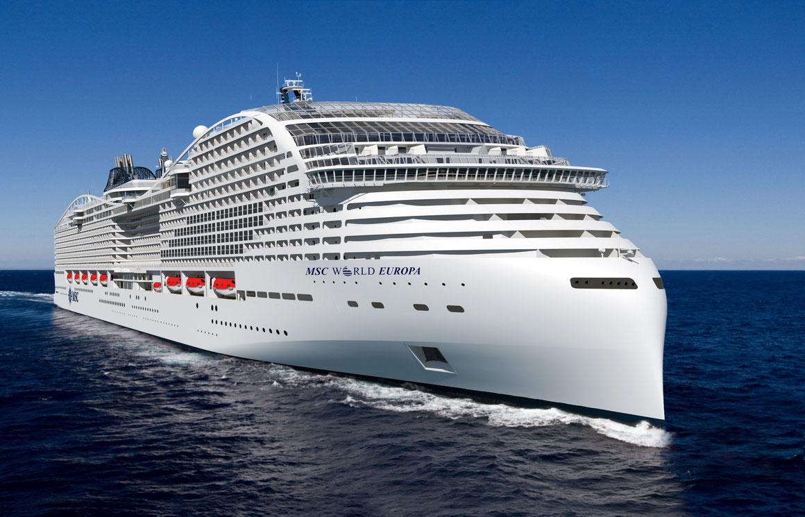 MSC World Europa MSC Cruises