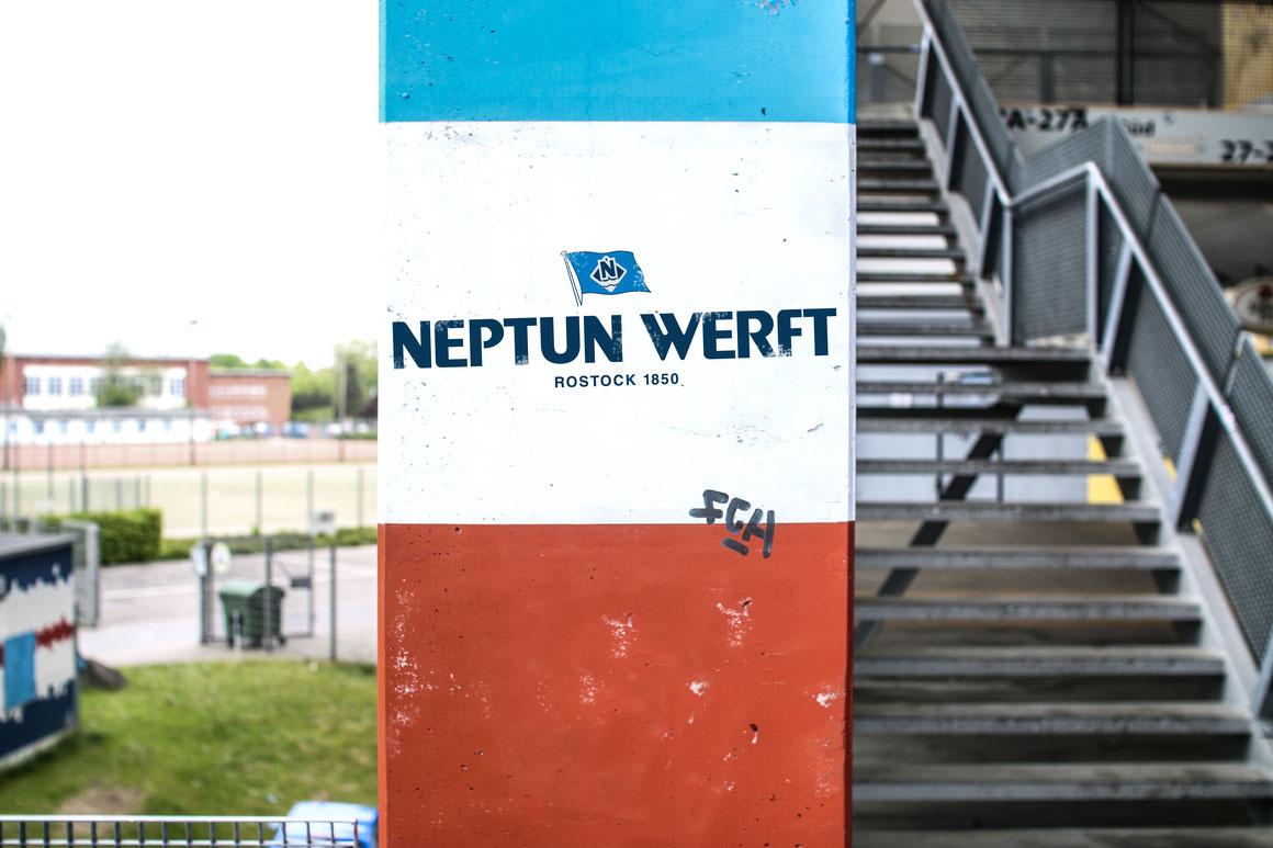 Pünktlich zum Saisonstart der 3. Liga: Neptun Werft wird Sponsor des F.C. Hansa Rostock |©Neptun Werft
