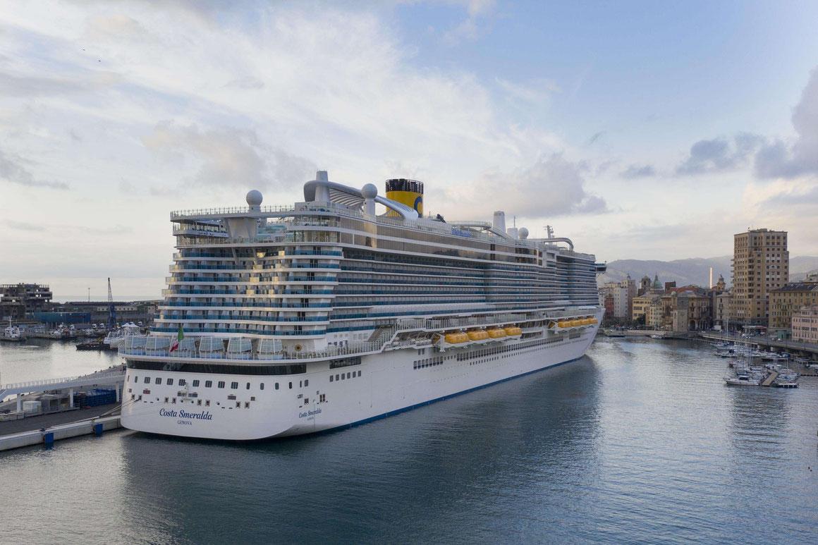 Costa Smeralda Kreuzfahrtschiff