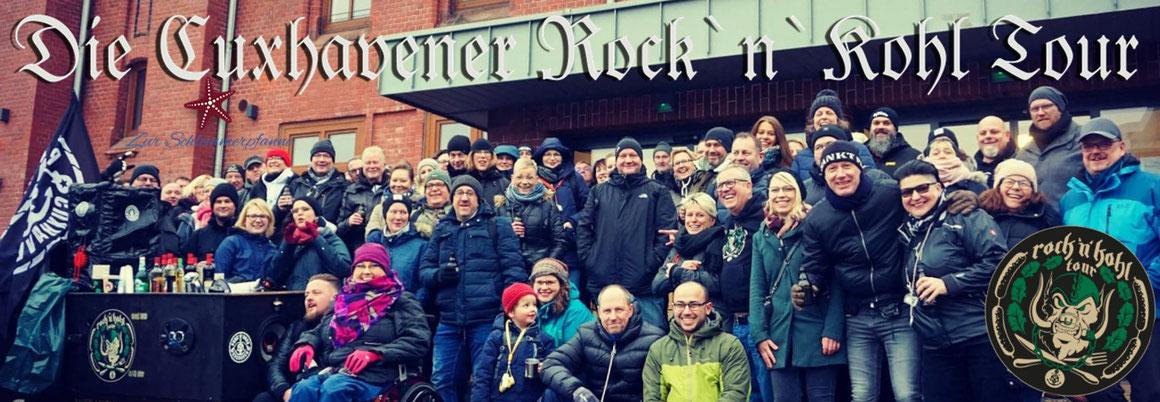 Über 100 Personen auf Tour: Die Cuxhavener Rock & Kohl Tour