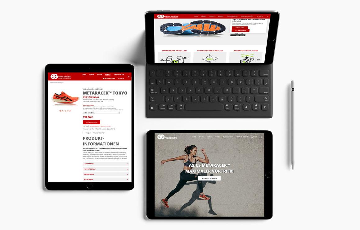 Laufsport-Versand Onlineshop