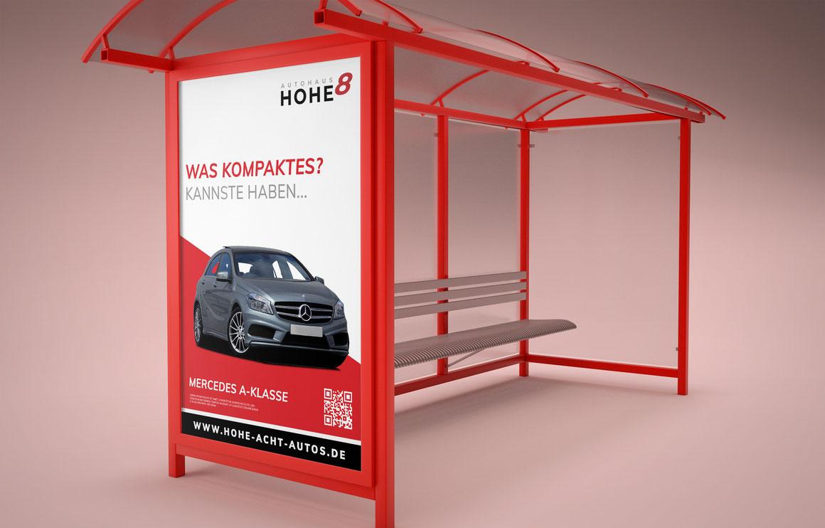 Autohaus Hohe 8 Werbeplakat