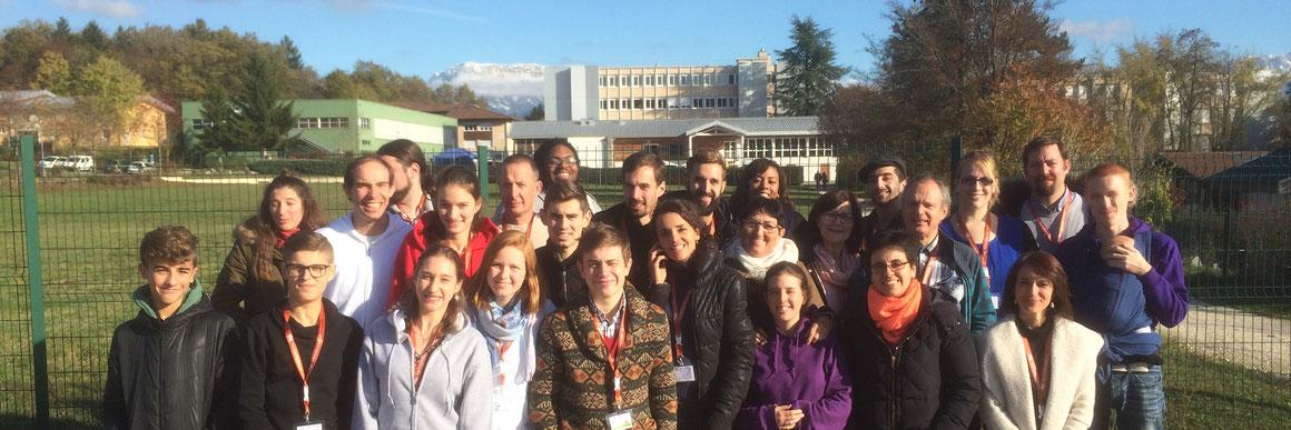 Les responsables des groupes ADSL à Annecy