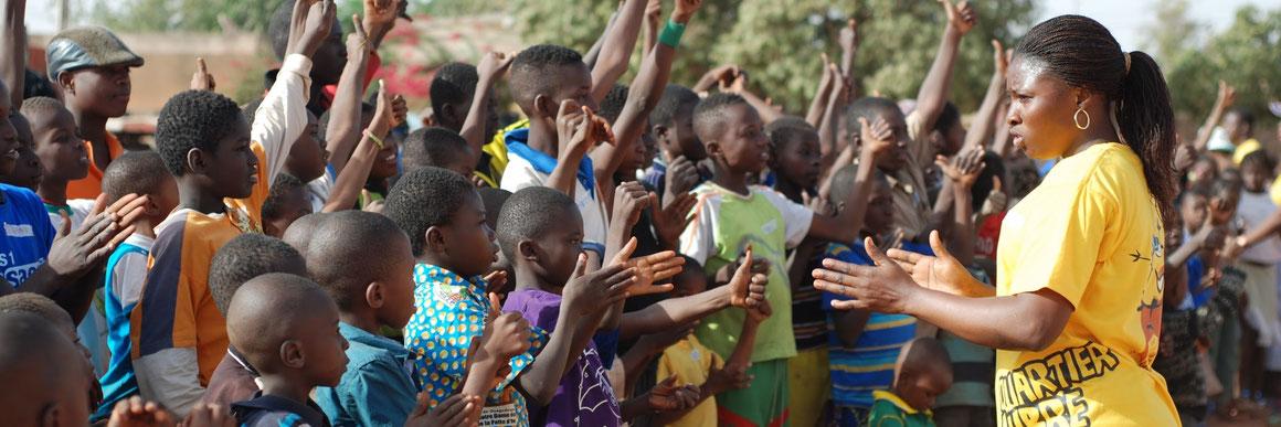 Un programme Quartier Libre au Burkina Faso