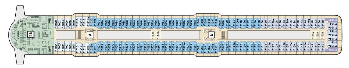 Mein Schiff 4 Deck 11
