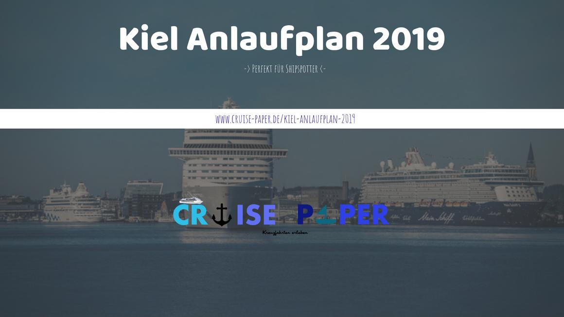 Kiel Anlaufplan 2019 | ©Stephen Gergs