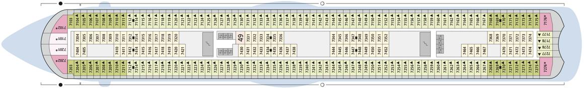 AIDAluna Deck 7
