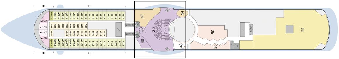 AIDAblu Deck 9