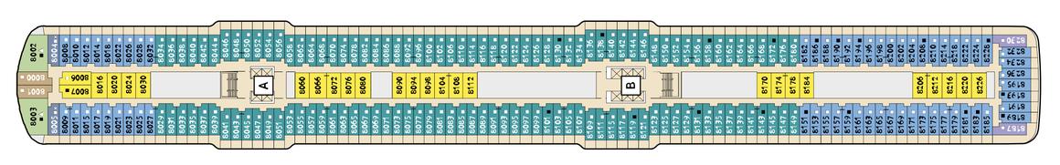 Mein Schiff 3 Deck 8