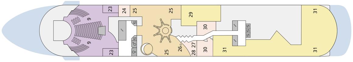 AIDAcara Deck 8