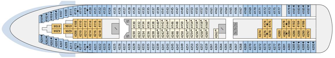 AIDAcara Deck 4