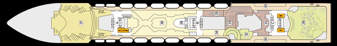Mein Schiff Herz Deck 7 | © TUI Cruises
