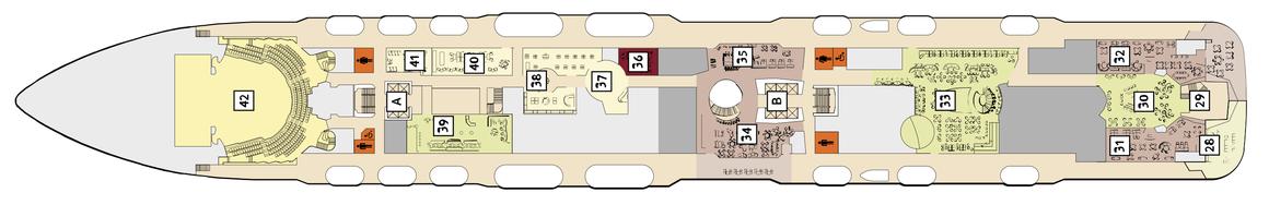 Mein Schiff 3 Deck 5