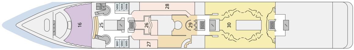 AIDAmira Deck 5