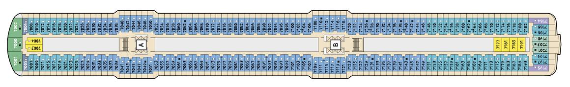 Mein Schiff 4 Deck 7
