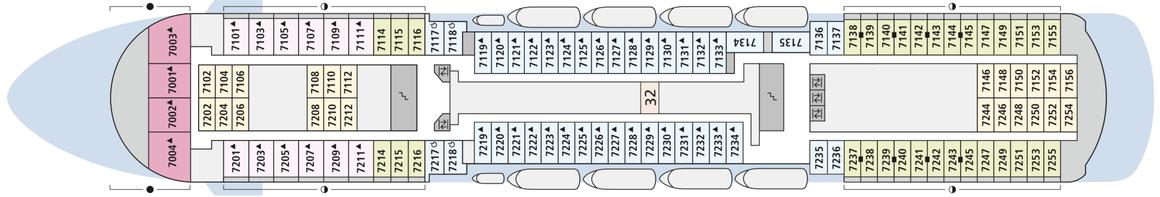 AIDAcara Deck 7