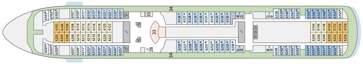 AIDAcara Deck 6