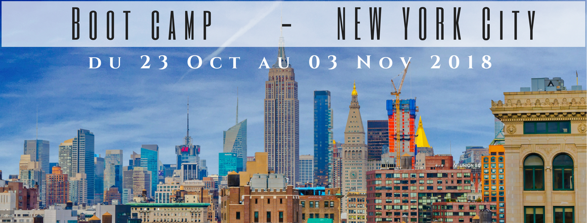 Bootcamp à New-York 2018