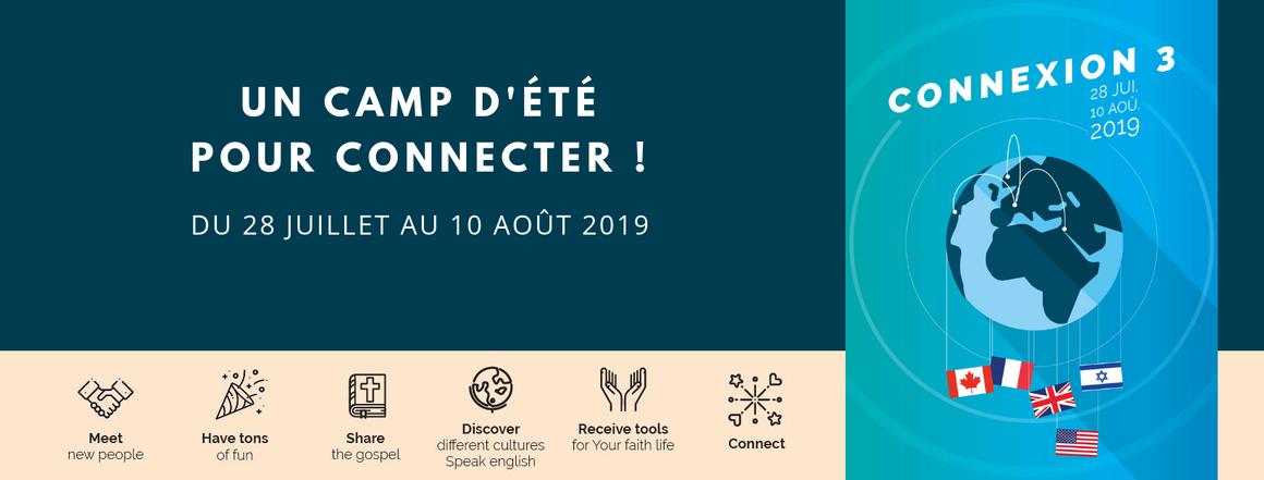 camp d'été ConneXion 2019