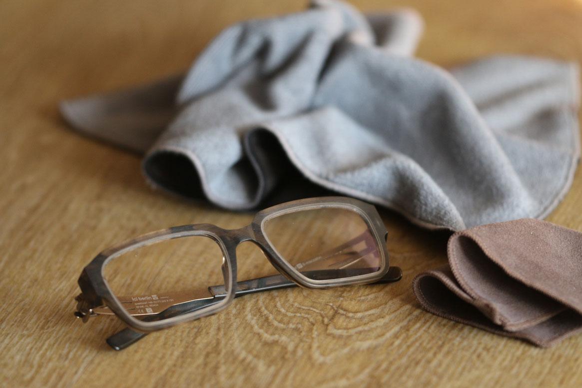 Brillentuch XXL für die perfekte Brillenpflege Optiker Zacher Erfurt