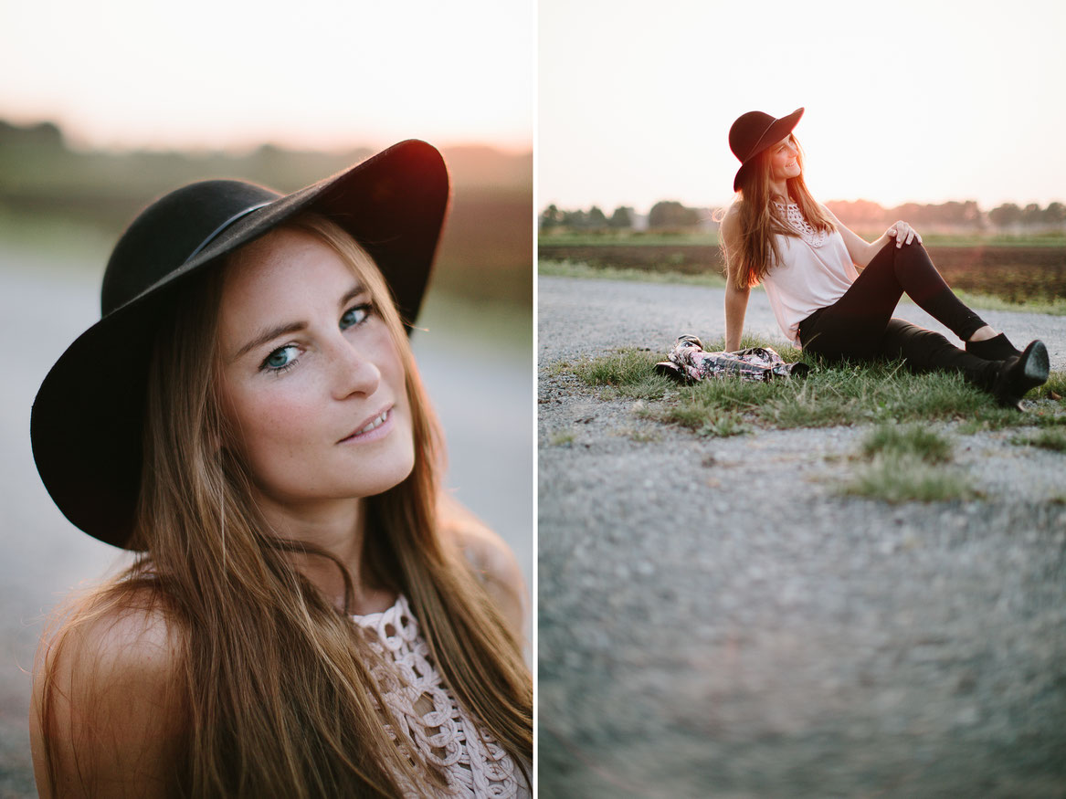 Fashion, portrait, Mode, outdoor, sunset, Sonnenuntergang, woman, canon, 5d3, Sabine Lange, Hochzeitsfotografie, wedding