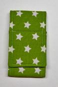 Nr.22 Sternchen auf grün Baumwolle