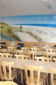 Speisesaal 1 Ferienhaus Fototapete Nordsee Carolinensiel