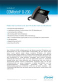 Titelbild Datenblatt: Auerswald COMfortel 2600