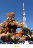 二郎さん:牛嶋神社祭礼