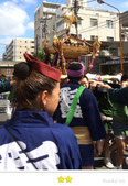 大鐡さん:亀戸天神祭