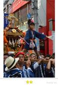 カエルさん:町田天満宮例大祭