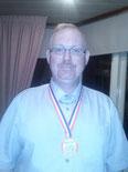Marcel de Pijper, District en regio kampioen en 2e op het NK bandstoten 4e klas