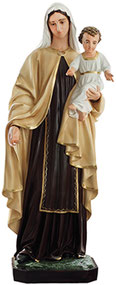 Our Lady of Mount Carmel statue cm. 170