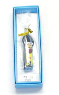 九谷焼『爪切り』お人形 黄色系