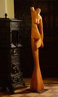 holzskulptur, zum ambtman, restaurant, gunnar mozer, skulpturen