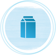 Icon for portion size in grams milliliters serving packaging