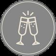 Geburtstag, Hochzeit, Taufe, Kommunion, Konfirmation, Firmenessen, Weihnachtessen