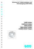 Titelbild Anleitung für Treiberinstallation und Internetzugang (CAPI/TAPI): Auerswald COMfortel 2500 AB