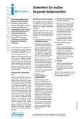 Titelbild Prospekt: Sicherheit für außen liegende Nebenstellen für COMpact 5000