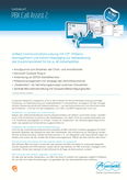 Titelbild Prospekt: Auerswald PBX Call Assist online COMpact 5200