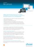 Titelbild Prospekt: Zentrales VoiceMail- und Faxsystem Auerswald COMmander 6000