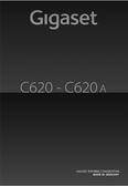 Titelbild Bedienungsanleitung: Gigaset C620A