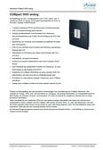 Titelbild Datenblatt: Auerswald COMpact 3000 analog