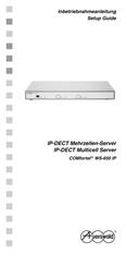 Titelbild Inbetriebnahmeanleitung Auerswald COMfortel WS-650 IP