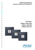 Titelbild Installations-, Bedienungs- und Konfigurationsanleitung: Auerswald COMpact 3000 analog