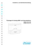 Titelbild Installations- und Inbetriebnahmeanleitung Auerswald COMpact 5010 VoIP