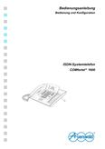 Titelbild Bedienungs- und Konfigurationsanleitung: Auerswald COMfortel 1600