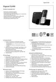 Titelbild Steckbrief: Gigaset SL400